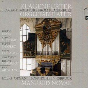 Klagenfurter Orgeltabulatur