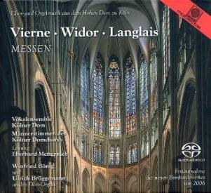Vierne/Widor/Langlais